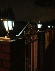Copper Solar Post Lights